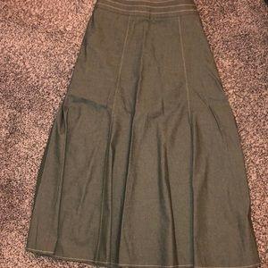 Jean flare skirt!!!